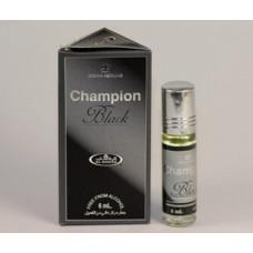 "Миск ""Champion Black"" (6 мл) Al-Rehab - масляные духи (роллер) без содержания спирта."
